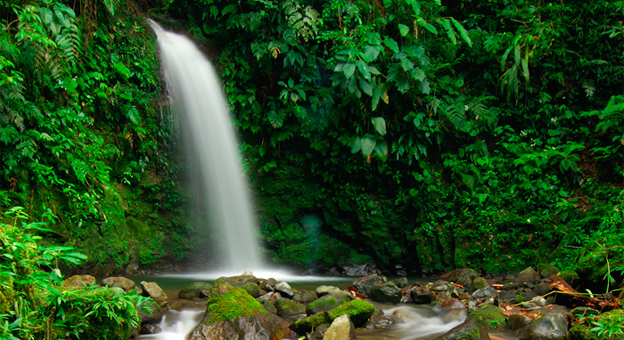 El Valle de Anton waterfall.